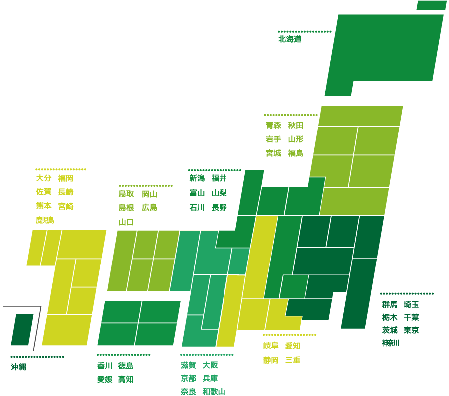 FRENDIXJAPANの地図