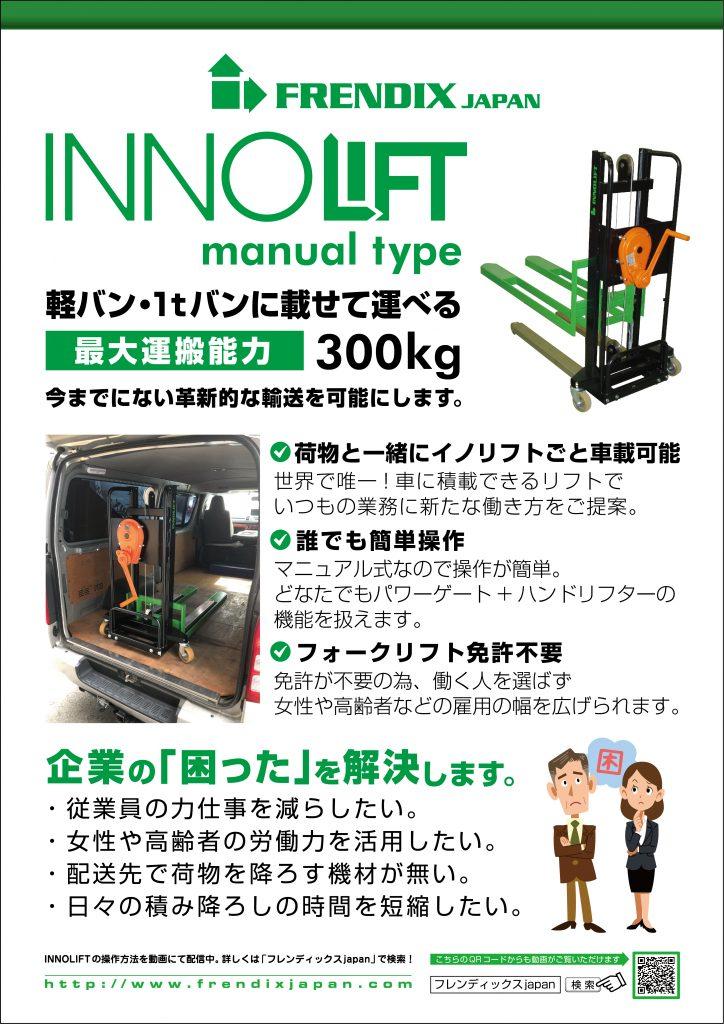 INNOLIFT manual typ 表